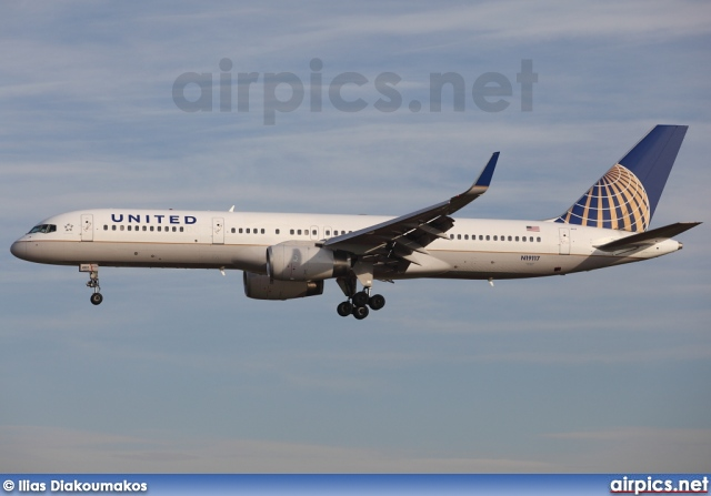N19117, Boeing 757-200, United Airlines
