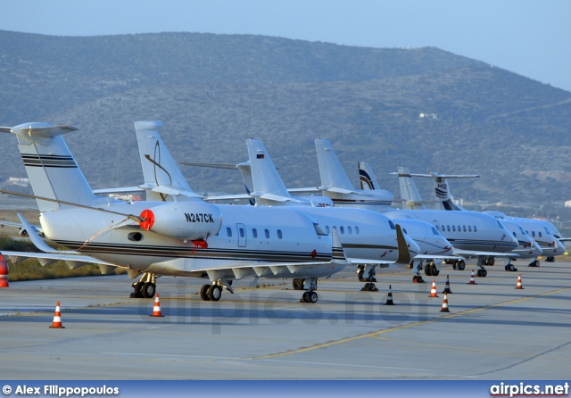 N247CK, Bombardier Challenger 600-CL-600S, Private