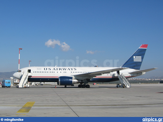 N249AU, Boeing 767-200ER, US Airways