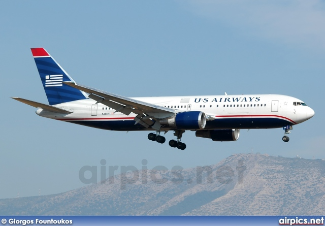N255AY, Boeing 767-200ER, US Airways