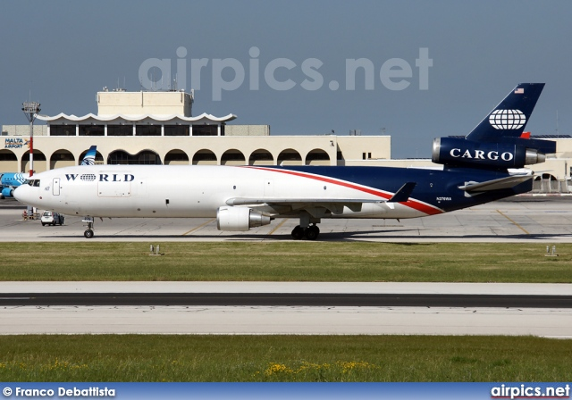 N276WA, McDonnell Douglas MD-11-CF, World Airways Cargo
