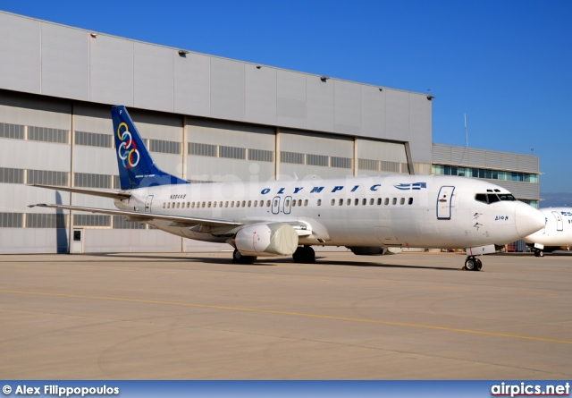 N304AS, Boeing 737-400, Olympic Airlines