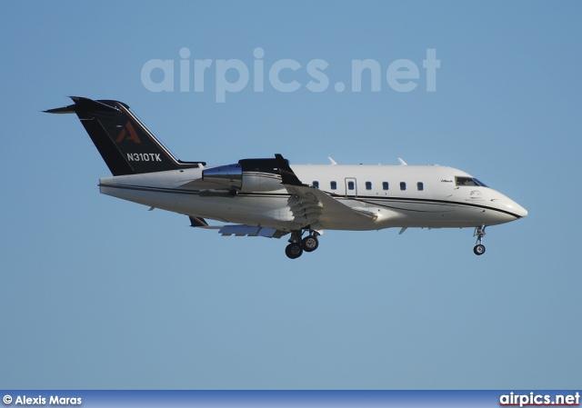 N310TK, Bombardier Challenger 600-CL-604, Private