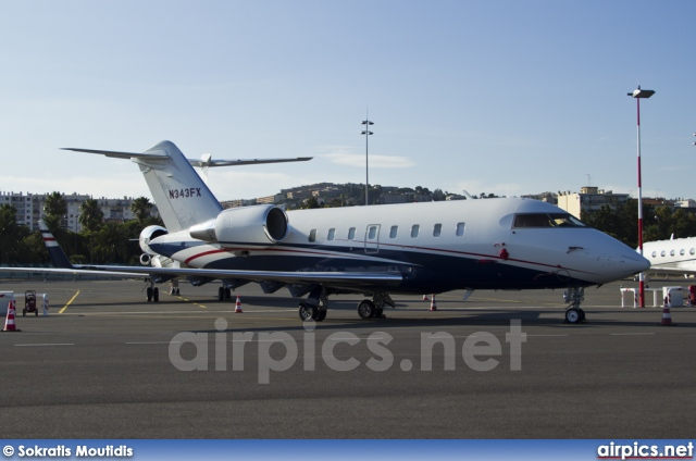 N343FX, Bombardier Challenger 600-CL-605, Private