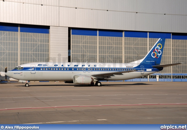 N353AS, Boeing 737-400, Olympic Airlines