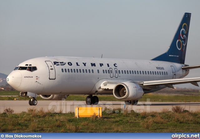N362AS, Boeing 737-400, Olympic Airlines