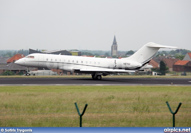 N375G, Bombardier Global Express, Private