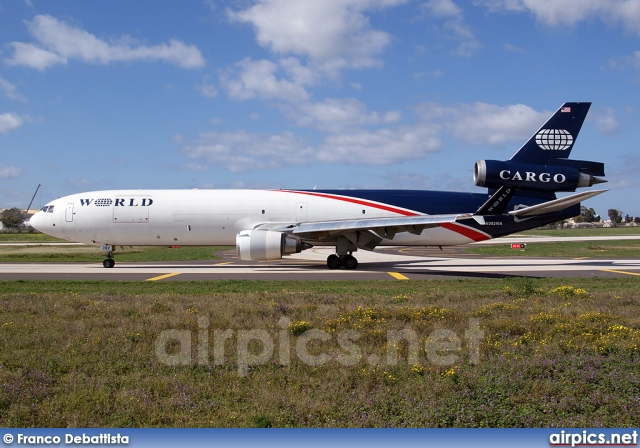 N382WA, McDonnell Douglas MD-11-F, World Airways Cargo