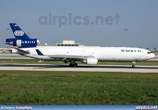 N383WA, McDonnell Douglas MD-11-F, World Airways Cargo