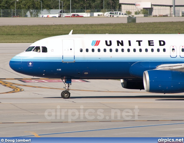 N406UA, Airbus A320-200, United Airlines