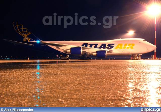 N412MC, Boeing 747-400F(SCD), Atlas Air