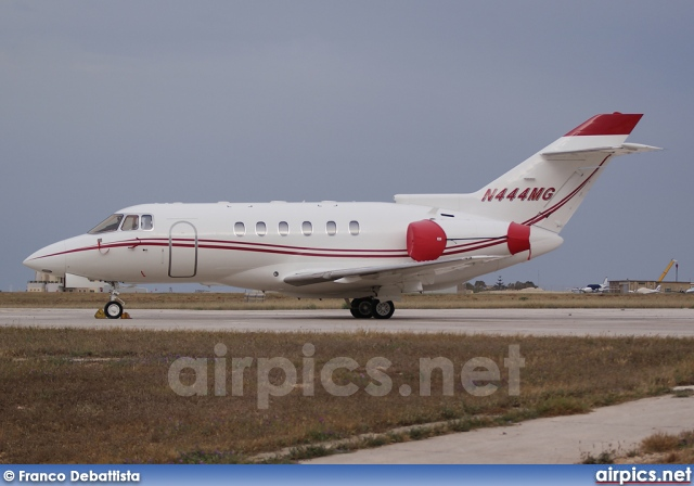 N444MG, Hawker 800XP, Private