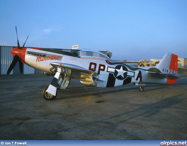 N44727, North American P-51D Mustang, Private