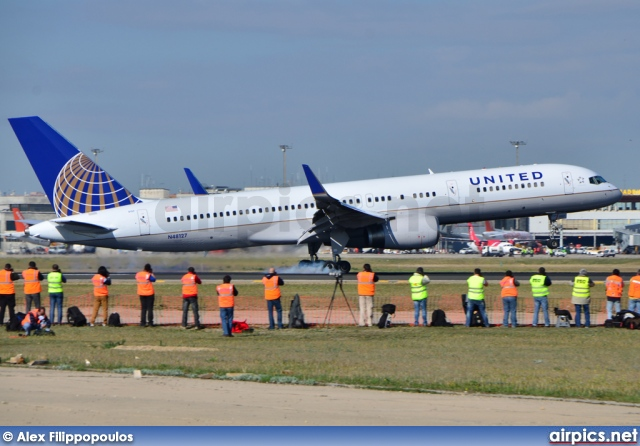 N48127, Boeing 757-200, Continental Airlines