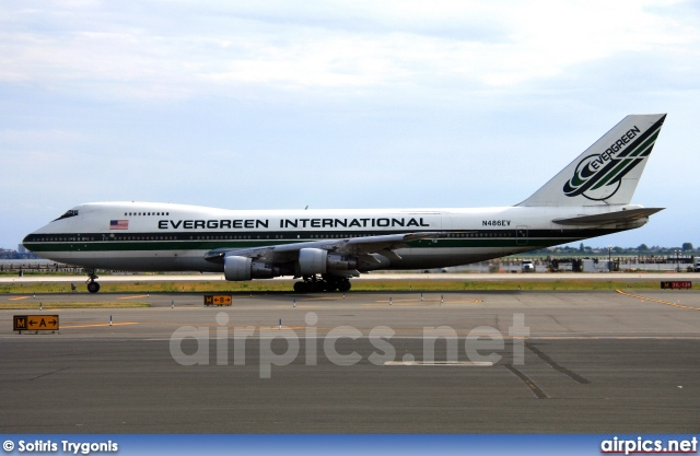 N486EV, Boeing 747-200B(SF), Evergreen International Airlines