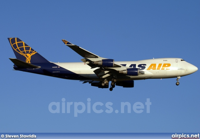 N492MC, Boeing 747-400F(SCD), Atlas Air