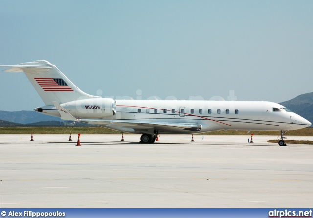 N50DS, Bombardier Global Express, Private
