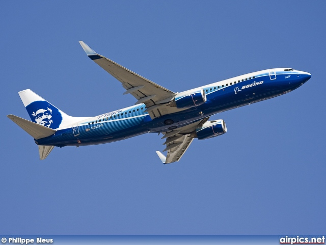 N512AS, Boeing 737-800, Alaska Airlines
