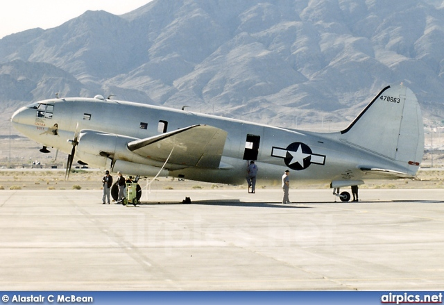 N53594, Curtiss C-46F Commando, Commemorative Air Force