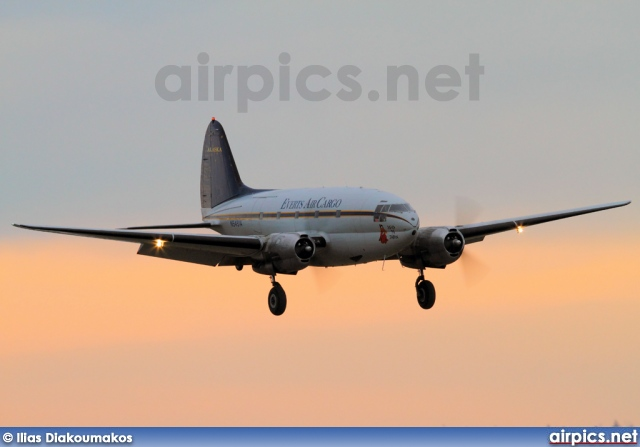 N54514, Curtiss C-46D Commando, Everts Air Cargo
