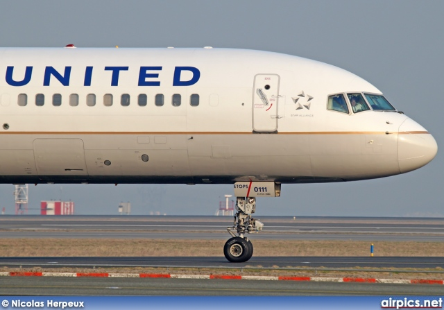 N57111, Boeing 757-200, United Airlines