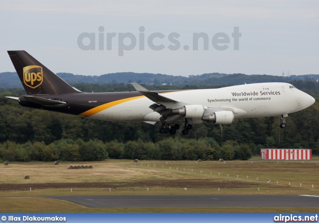 N577UP, Boeing 747-400F(SCD), UPS Airlines