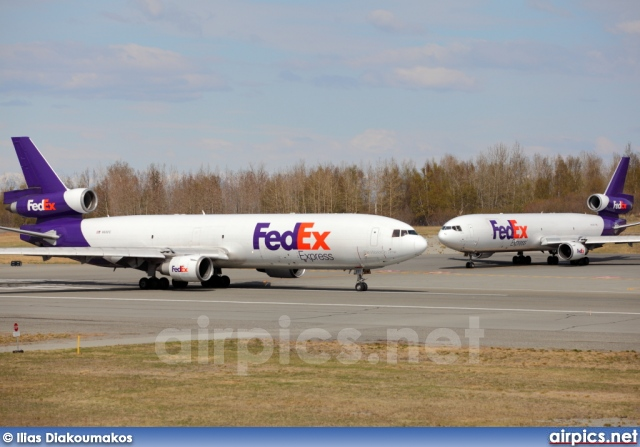 N601FE, McDonnell Douglas MD-11-F, Federal Express (FedEx)