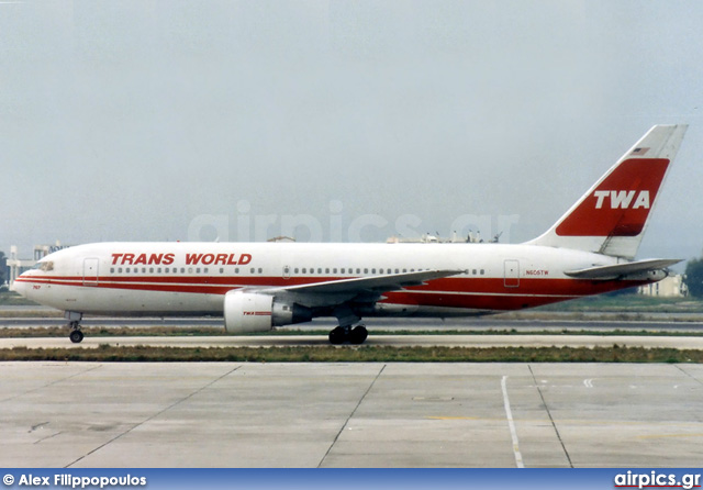 N605TW, Boeing 767-200ER, TWA - Trans World Airlines