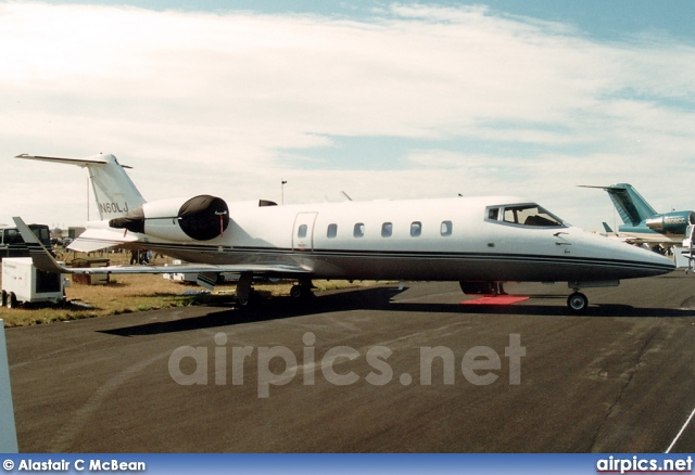 N60LJ, Bombardier Learjet 60, Private