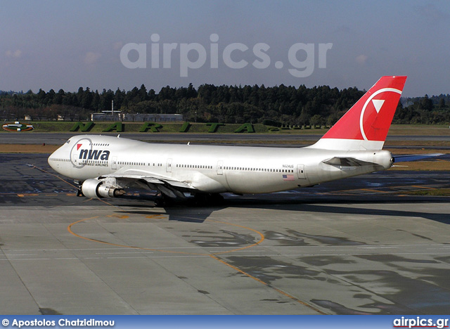 N624US, Boeing 747-200B, Northwest Airlines