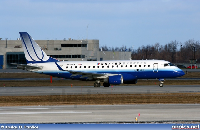 N633RW, Embraer ERJ 170-100SE, United Express