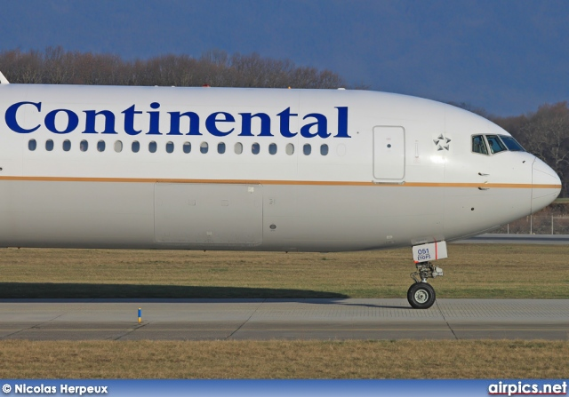 N66051, Boeing 767-400ER, Continental Airlines