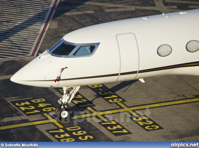 N666KQ, Gulfstream G650, Private