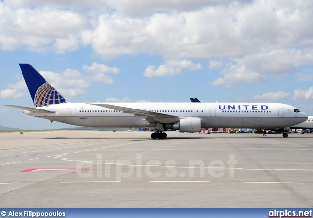 N69063, Boeing 767-400ER, United Airlines