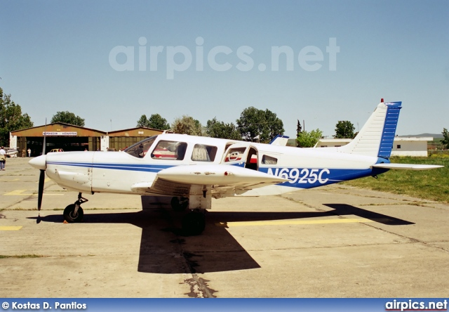 N6925C, Piper PA-32-300 Cherokee VI, Private
