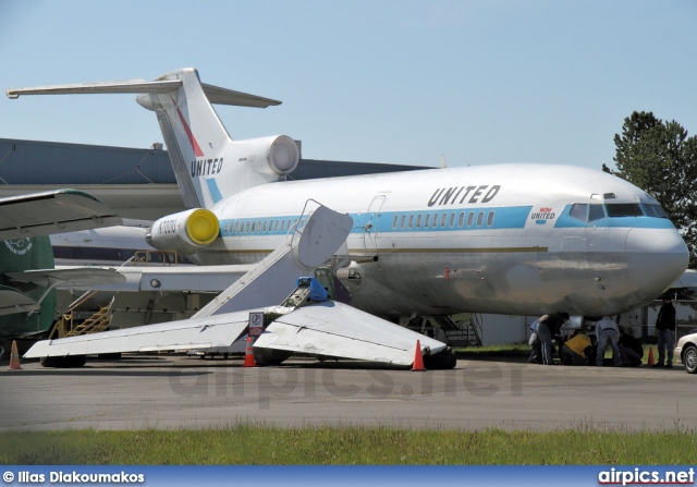 N7001U, Boeing 727-100, United Airlines