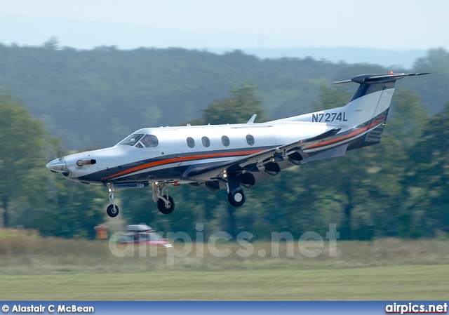N7274L, Pilatus PC-12-45, Private