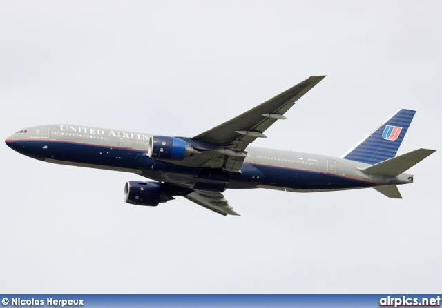 N773UA, Boeing 777-200, United Airlines