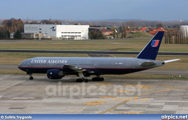 N792UA, Boeing 777-200ER, United Airlines