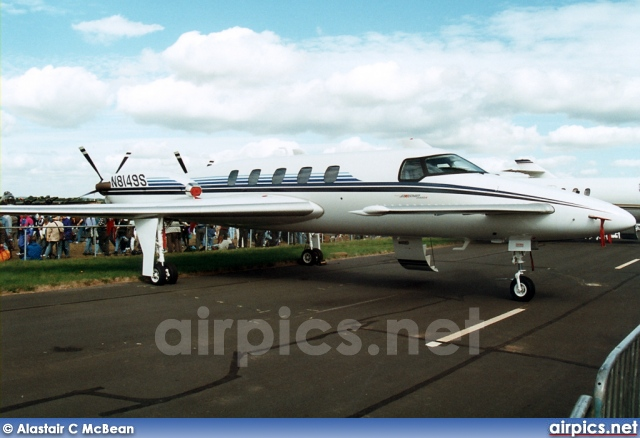 N8149S, Beech 2000A Starship, Untitled