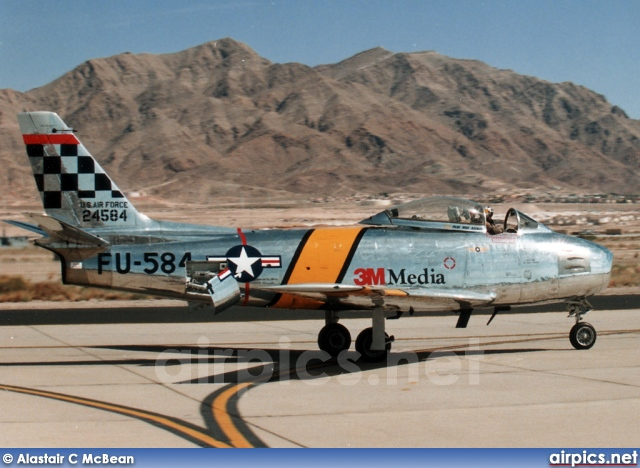 NX188RL, North American F-86F Sabre, Private