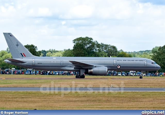 NZ7572, Boeing 757-200, Royal New Zealand Air Force
