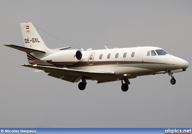 OE-GXL, Cessna 560-Citation XL, Private