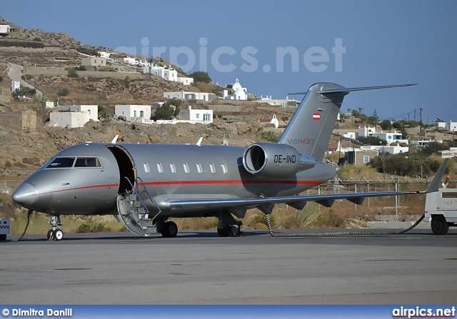 OE-IND, Bombardier Challenger 600-CL-605, Vista Jet