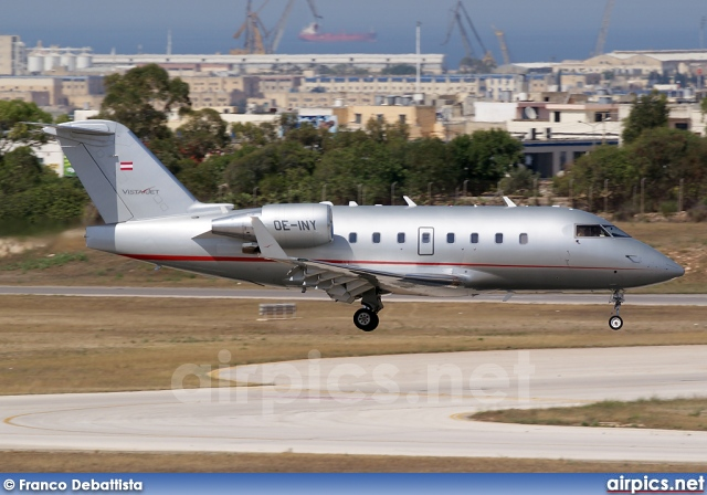 OE-INY, Bombardier Challenger 600-CL-604, Vista Jet