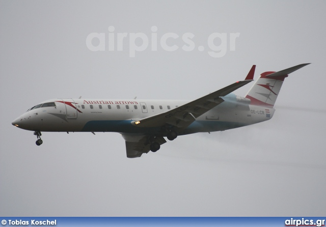 OE-LCR, Bombardier CRJ-200, Austrian Arrows (Tyrolean Airways)