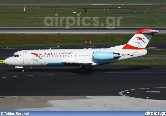 OE-LFH, Fokker 70, Austrian Arrows (Tyrolean Airways)