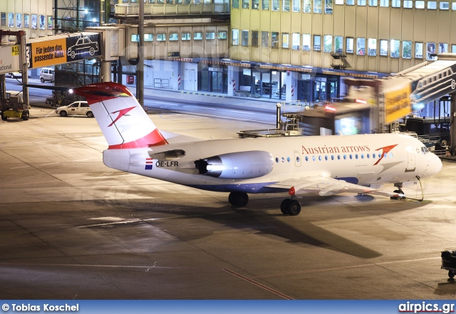 OE-LFR, Fokker 70, Austrian Arrows (Tyrolean Airways)
