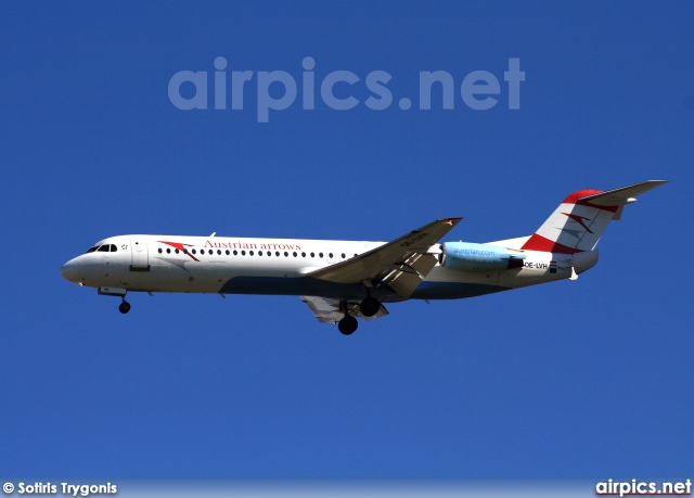 OE-LVH, Fokker F100, Austrian Arrows (Tyrolean Airways)