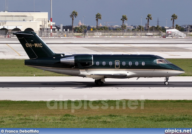 OH-WIC, Bombardier Challenger 600-CL-604, Jetflite